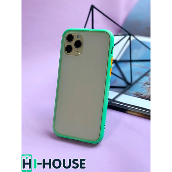 Чехол Gingle Series Case на iPhone 11 Pro Max (Mint Orange)