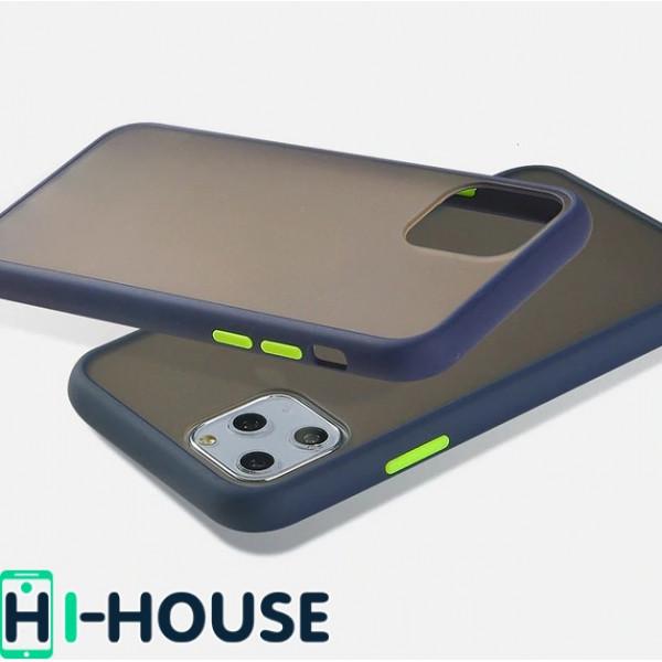 Чехол Gingle Series Case на iPhone 11 Pro Max (Blue Green)