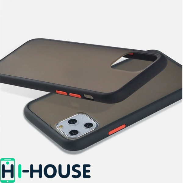 Чехол Gingle Series Case на iPhone 11 Pro Max (Black Red)