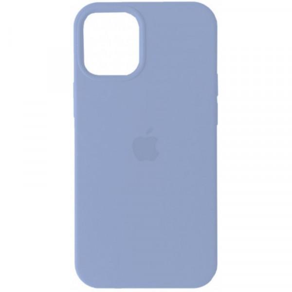 Чехол на iPhone 12 mini Silicone Case Full Lilac Cream