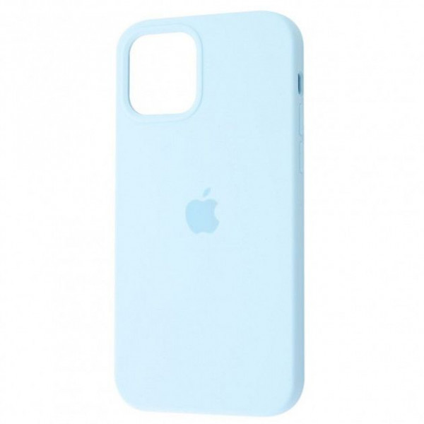 Чехол Silicone Case Full для iPhone 12 Pro Sky Blue