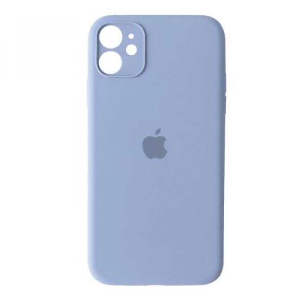 Чехол Silicone Case Full + Camera для iPhone 12 mini Lilac