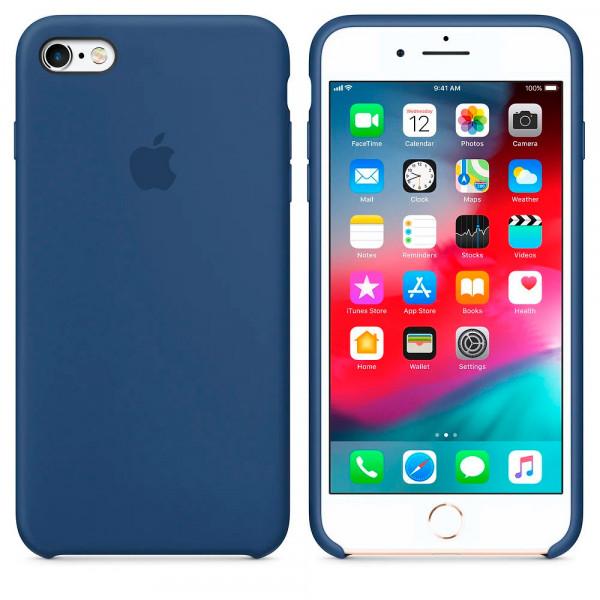Чехол Silicone Case для iPhone 6/6s (Alaskan Blue) OEM