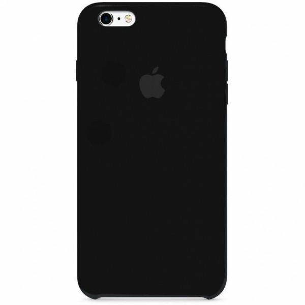 Чехол Silicone Case для iPhone 6/6s (Black) OEM