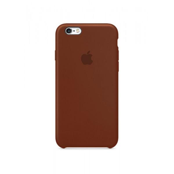 Чехол Silicone Case для iPhone 6/6s (Brown) OEM