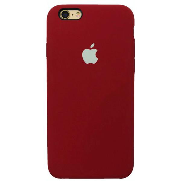 Чехол Silicone Case для iPhone 6/6s (Camellia White) OEM