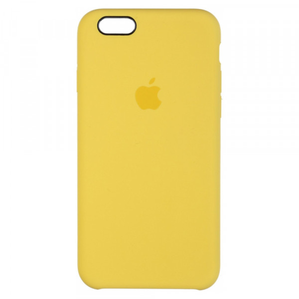 Чехол Silicone Case для iPhone 6/6s (Canary Yellow) OEM