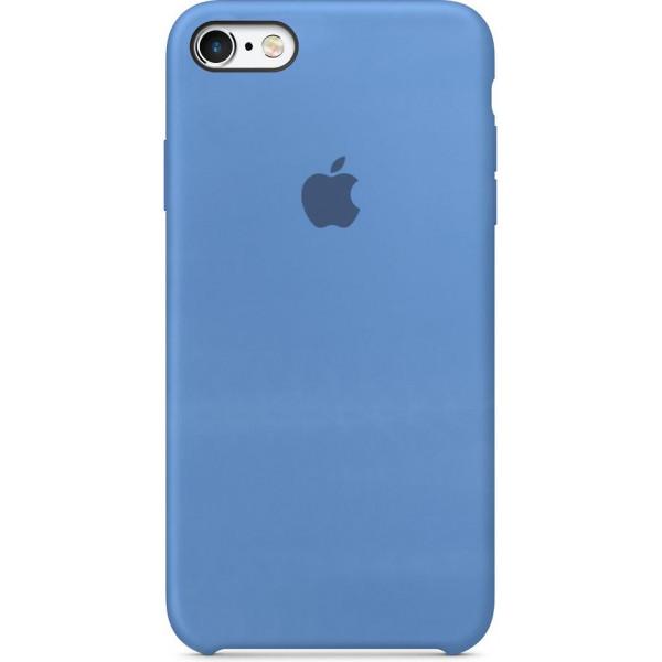 Чехол Silicone Case для iPhone 6/6s (Cornflower) OEM