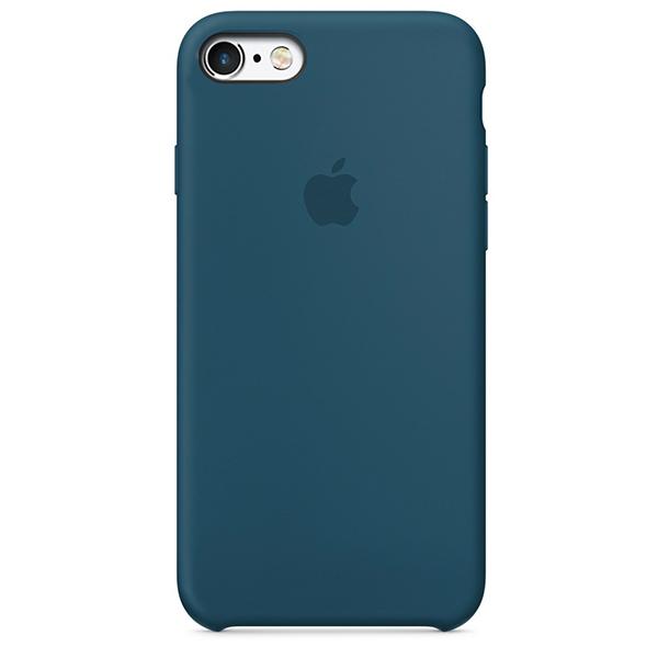 Чехол Silicone Case для iPhone 6/6s (Cosmos Blue) OEM
