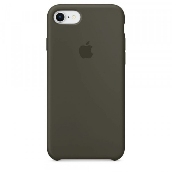Чехол Silicone Case для iPhone 6/6s (Dark Olive) OEM