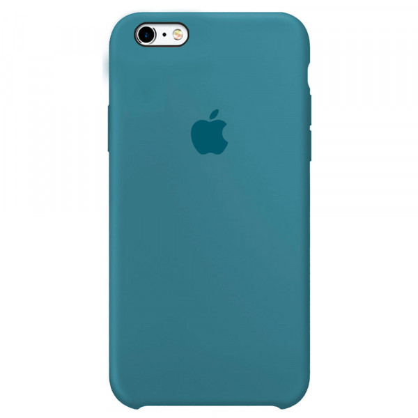 Чехол Silicone Case для iPhone 6/6s (Denim Blue) OEM
