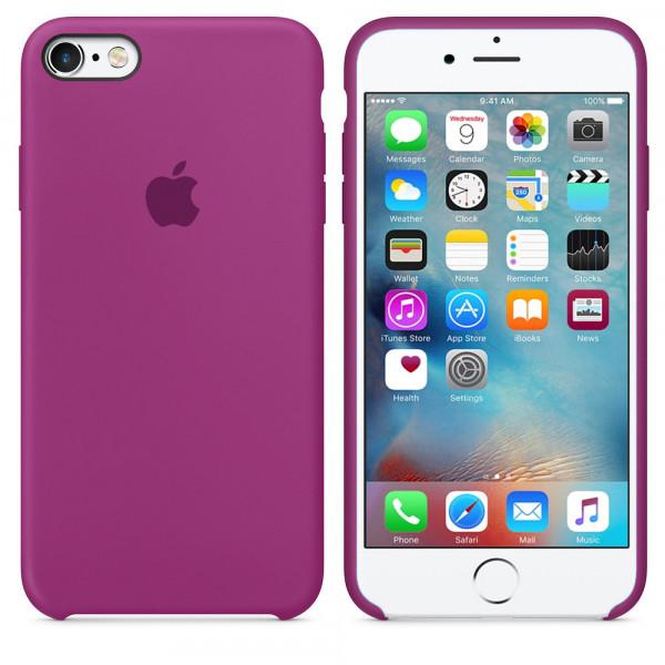 Чехол Silicone Case для iPhone 6/6s (Dragon Fruit) OEM