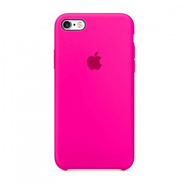 Чехол Silicone Case для iPhone 6/6s (Electric Pink) OEM