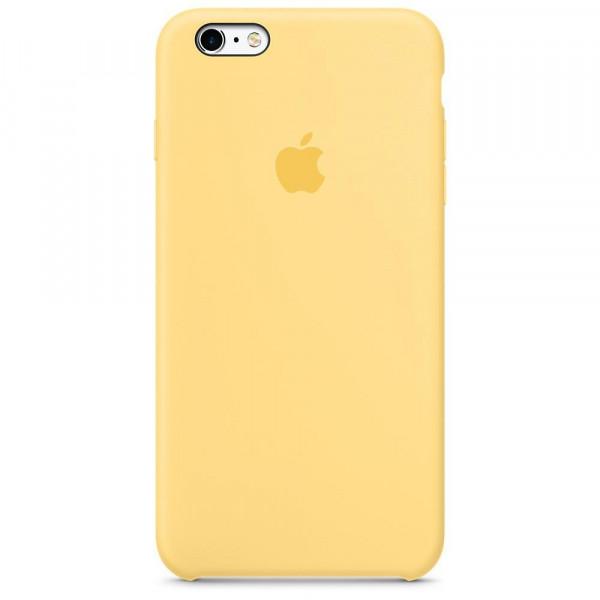 Чехол Silicone Case Full для iPhone 6 / 6s (Yellow)