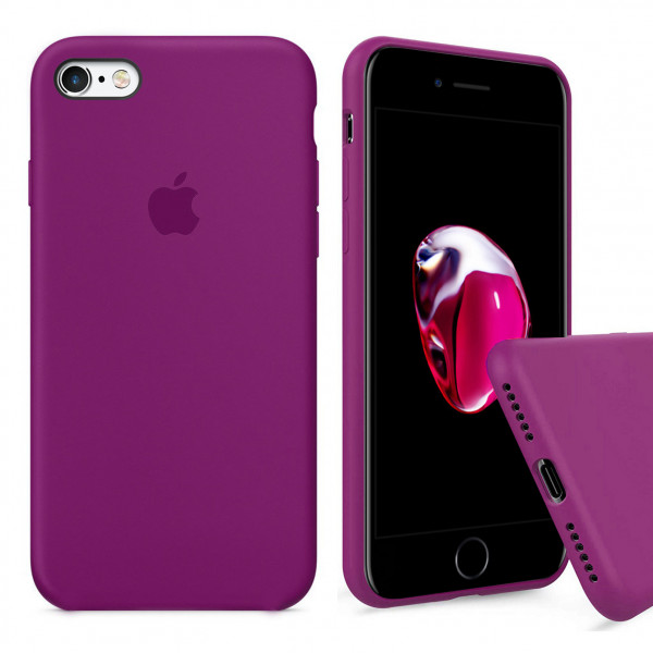 Чехол Silicone Case Full для iPhone 6 / 6s (Dragon Fruit)