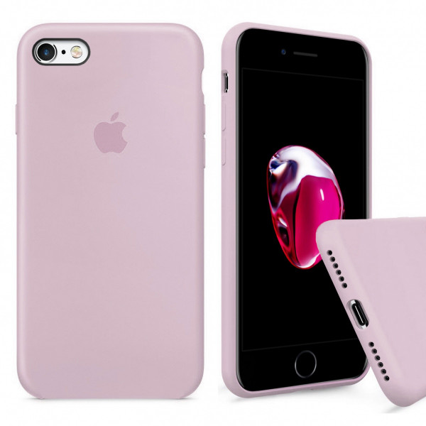 Чехол Silicone Case Full для iPhone 6 / 6s (Pink Sand)