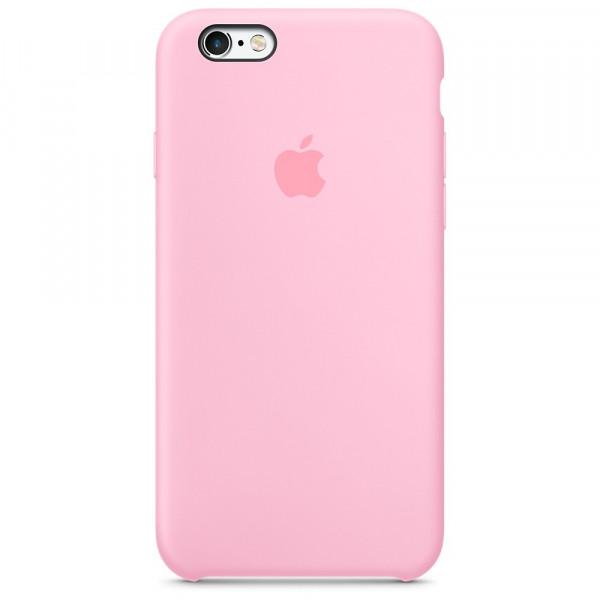 Чехол Silicone Case для iPhone 6/6s (Light Pink) OEM
