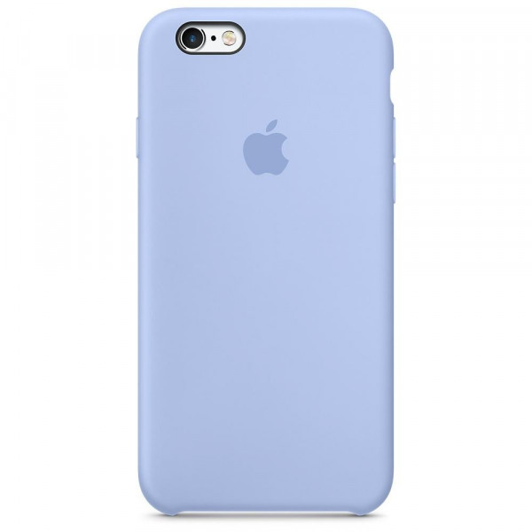 Чехол Silicone Case для iPhone 6/6s (Lilac Cream) OEM