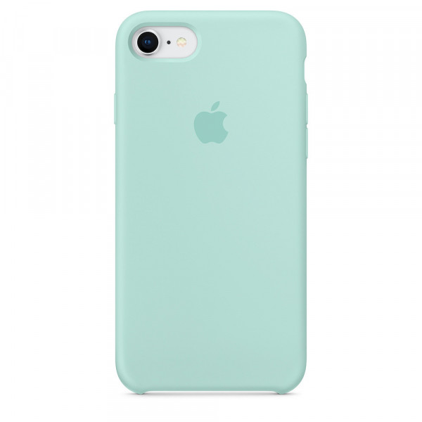 Чехол Silicone Case для iPhone 6/6s (Marine Green) OEM