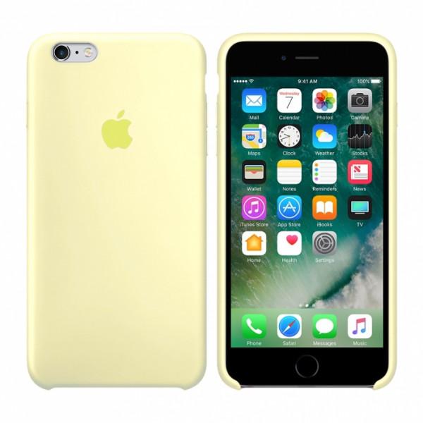 Чехол Silicone Case для iPhone 6/6s (Mellow Yellow) OEM
