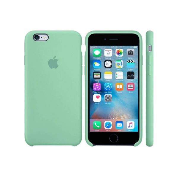 Чехол Silicone Case для iPhone 6/6s (Mint Gum) OEM