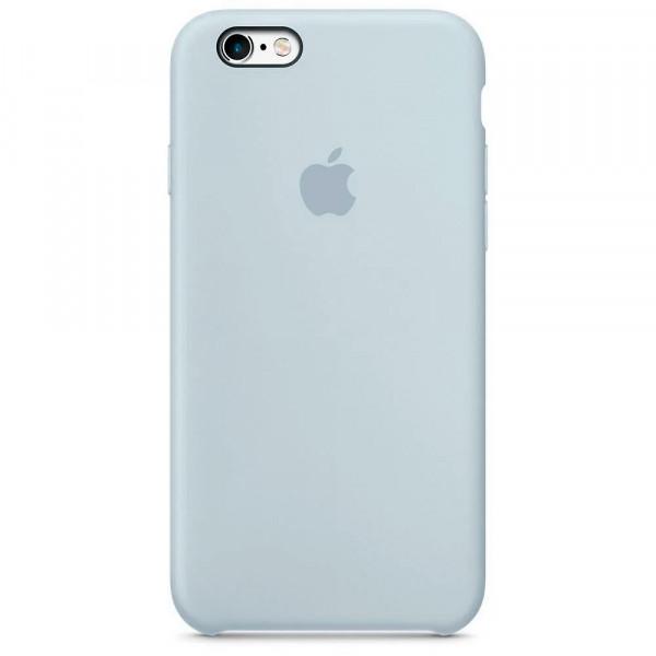 Чехол Silicone Case для iPhone 6/6s (Mist Blue) OEM