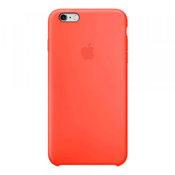 Чехол Silicone Case для iPhone 6/6s (New Apricot) OEM