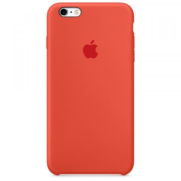 Чехол Silicone Case для iPhone 6/6s (Orange) OEM