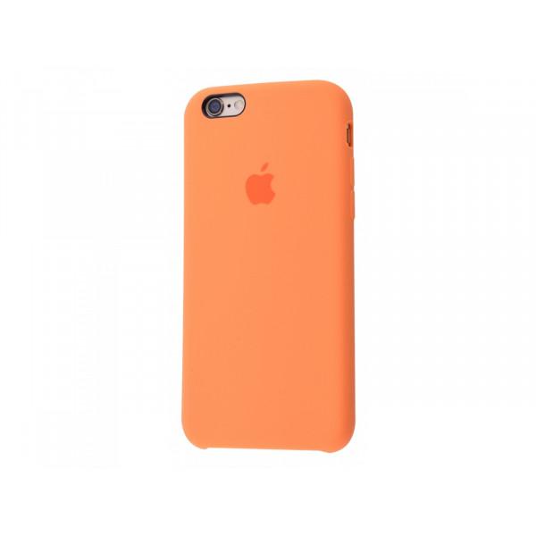 Чехол Silicone Case для iPhone 6/6s (Papaya) OEM