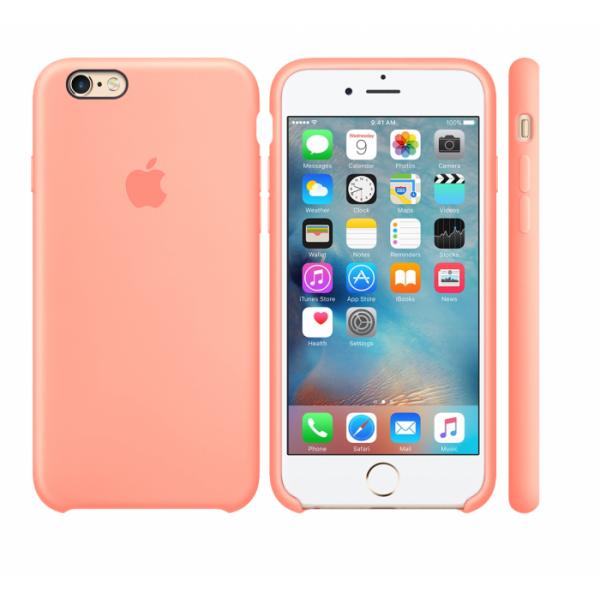 Чехол Silicone Case для iPhone 6/6s (Peach) OEM