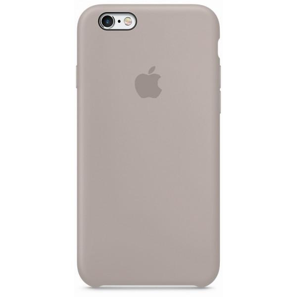 Чехол Silicone Case для iPhone 6/6s (Pebble) OEM