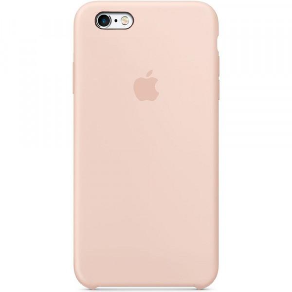 Чехол Silicone Case для iPhone 6/6s (Pink Sand) OEM