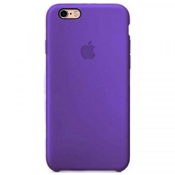 Чехол Silicone Case для iPhone 6/6s (Purple) OEM