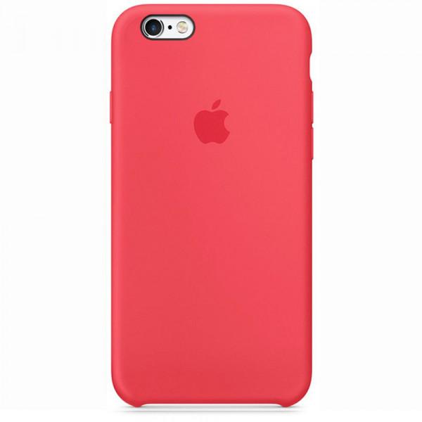 Чехол Silicone Case для iPhone 6/6s (Red Raspberry) OEM