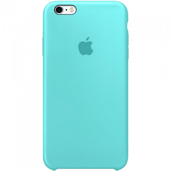 Чехол Silicone Case для iPhone 6/6s (Sea Blue) OEM