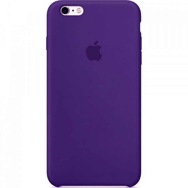 Чехол Silicone Case для iPhone 6/6s (Ultra Violet) OEM