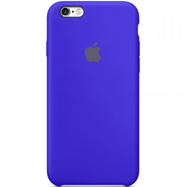 Чехол Silicone Case для iPhone 6/6s (Ultramarine) OEM