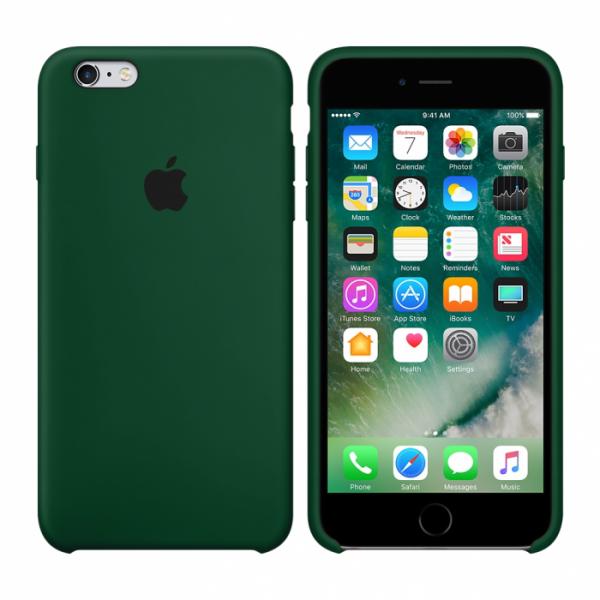 Чехол Silicone Case для iPhone 6/6s (Virid) OEM