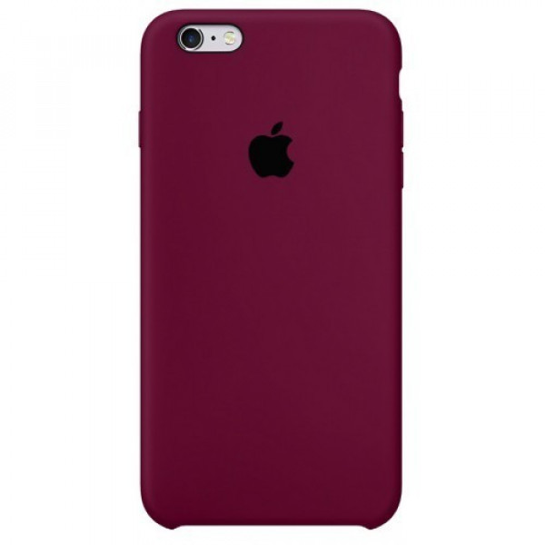 Чехол для iPhone 6 Plus / 6s Plus Silicone Case (Marsala) OEM