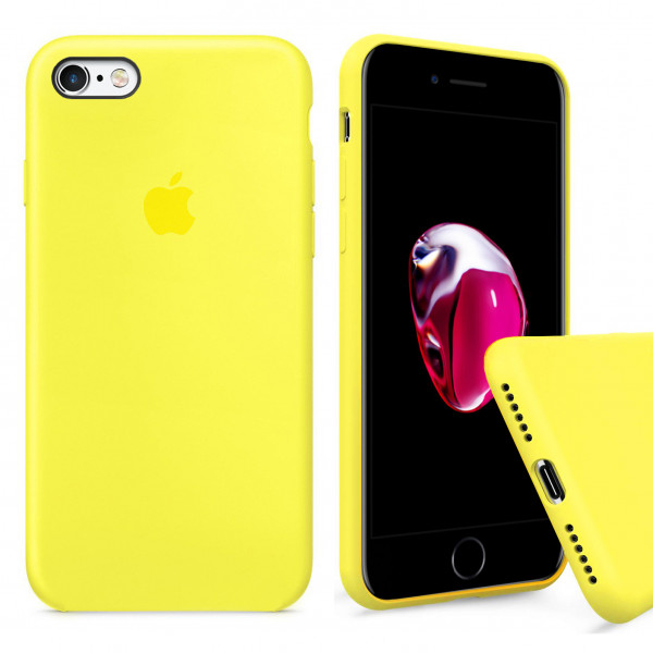 Чехол Silicone Case Full для iPhone 6 Plus / 6s Plus (Flash)