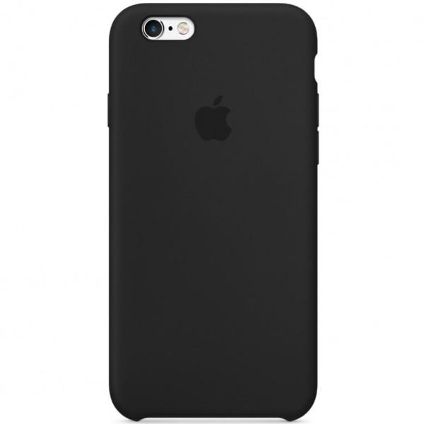 Чехол для iPhone 6 Plus / 6s Plus Silicone Case (Black) OEM