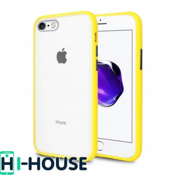 Чехол Gingle Series Case на iPhone 7 / 8 / SE (2020) (Yellow Black)