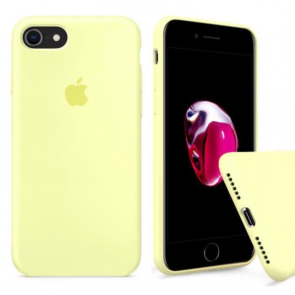 Чехол Silicone Case Full на iPhone 7 / 8 / SE (2020) (Mellow Yellow)