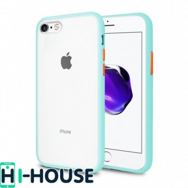 Чехол Gingle Series Case на iPhone 7 / 8 / SE (2020) (Blue Orange)