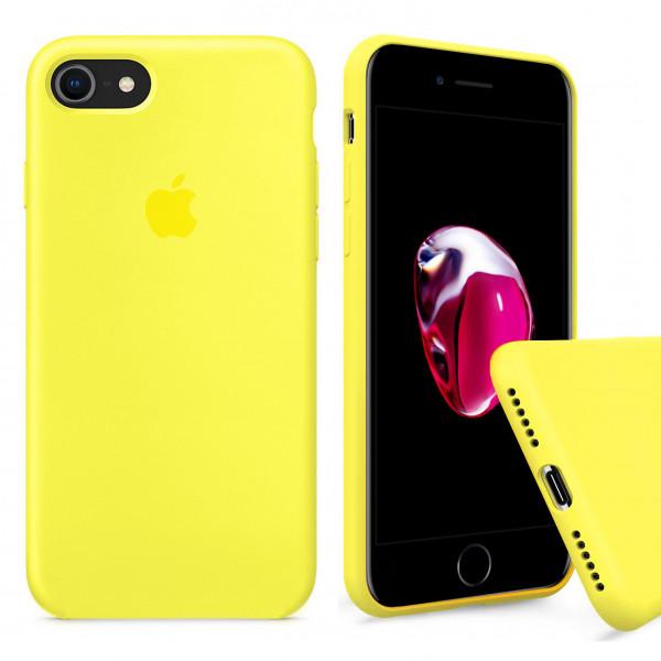 Чехол Silicone Case Full на iPhone 7 / 8 / SE (2020) (Flash)