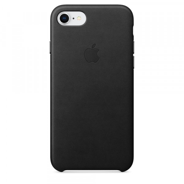 Чехол Good Leather Case на iPhone 7 / 8 / SE (2020) (Black)