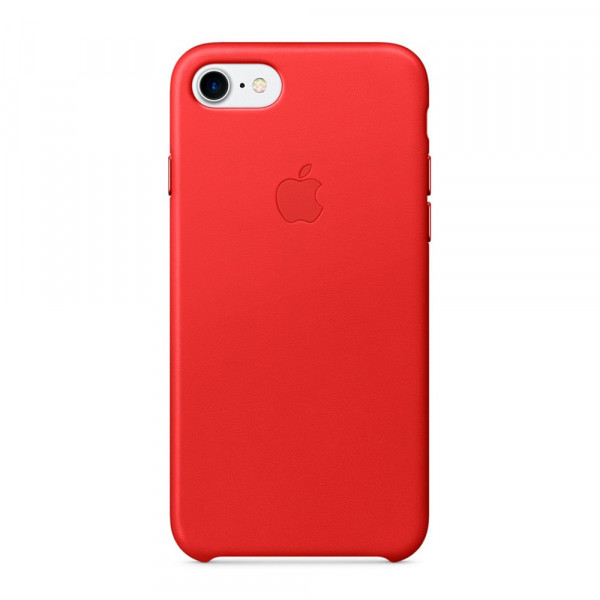 Чехол Good Leather Case на iPhone 7 / 8 / SE (2020) (Red)