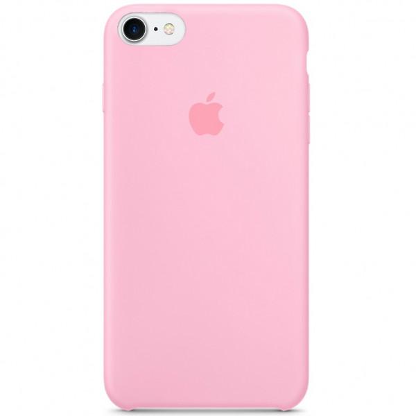 Чехол Silicone Case на iPhone 7 / 8 / SE (2020) (Pink) OEM
