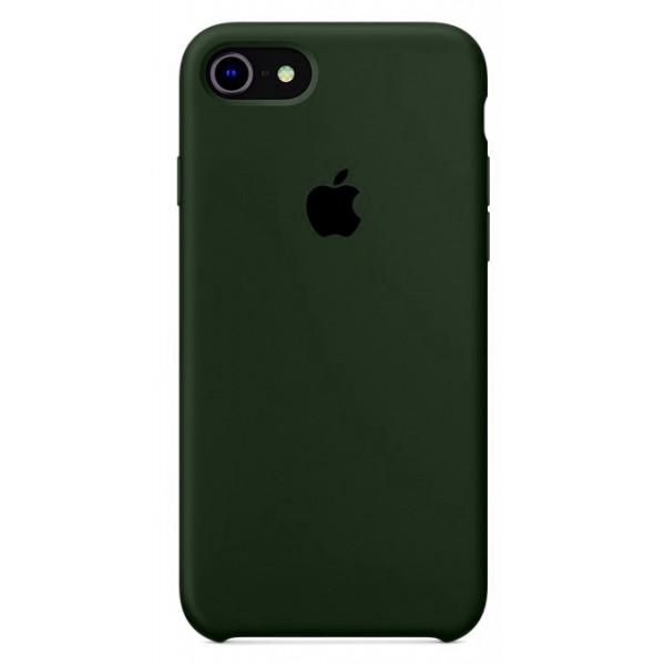 Чехол Silicone Case на iPhone 7 / 8 / SE (2020) (Virid) OEM
