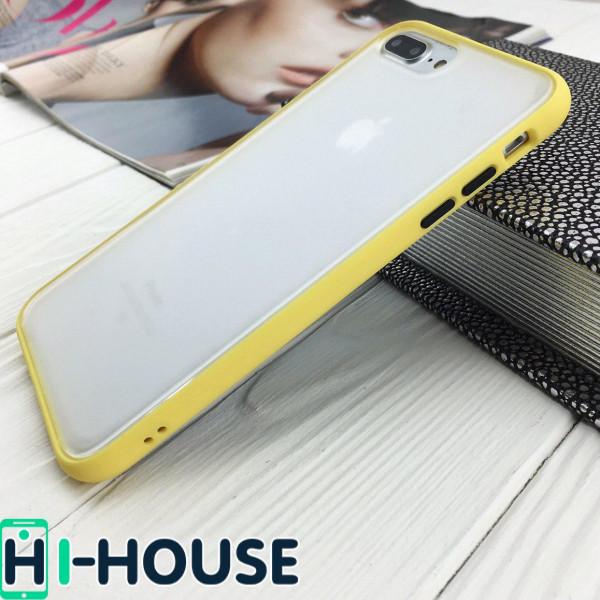 Чехол Gingle Series Case на iPhone 8 Plus/7 Plus (Yellow Black)